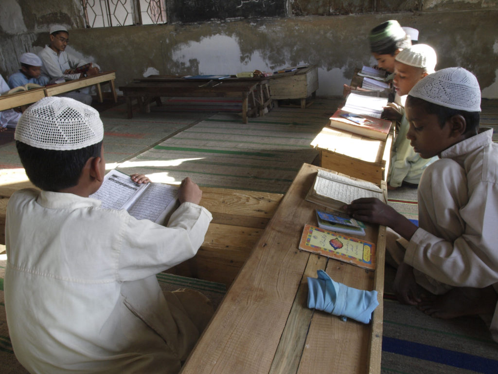 Students at a Burmese Madrassa in Karachi. ©2008 Derek Henry Flood