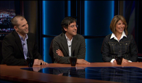 From left: Taibbi, Aslan and Klein