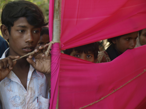 Stateless Rohingya refugees near Teknaf, Bangladesh. ©2008 Derek Henry Flood