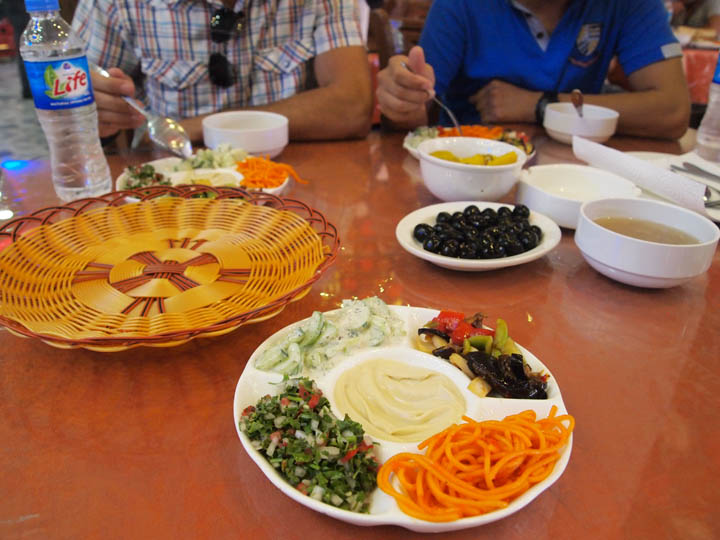 Oh and Iraq has some fantastic local dishes. But you are more likely to hear about Iraqis dying during their dinner as sectarian warfare escalates. ©2013 Derek Henry Flood