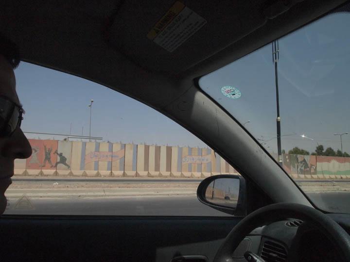 My fixer driving us into outskirts of Kirkuk last year. He is plenty busy now. ©2013 Derek Henry Flood