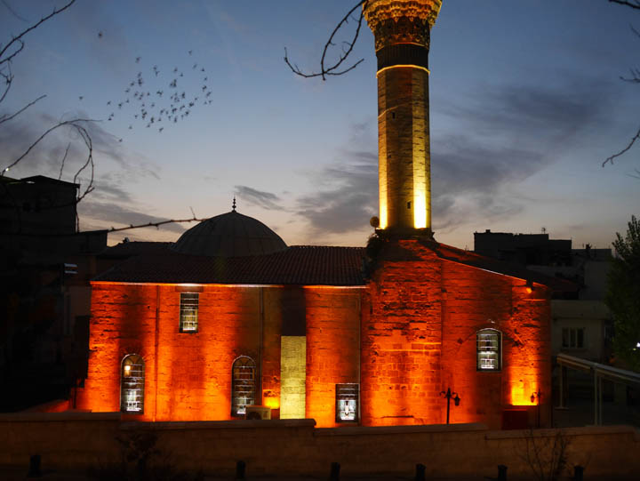 The Sirvani mosque near Gaziantep's castle. ©2014 Derek Henry Flood