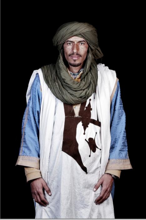 Merzouga, a desert village near the Algerian border in southern Morocco, ©2014 Leila Alaoui