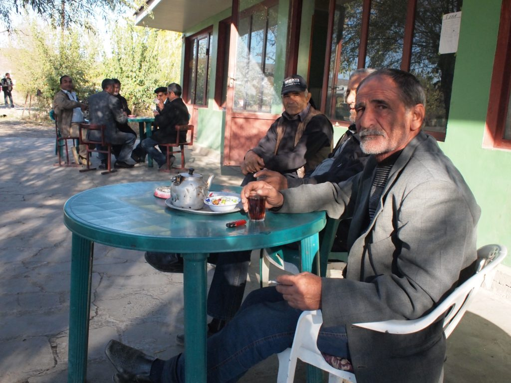 An Azeri chai khana in central Georgia. ©2013 Derek Henry Flood