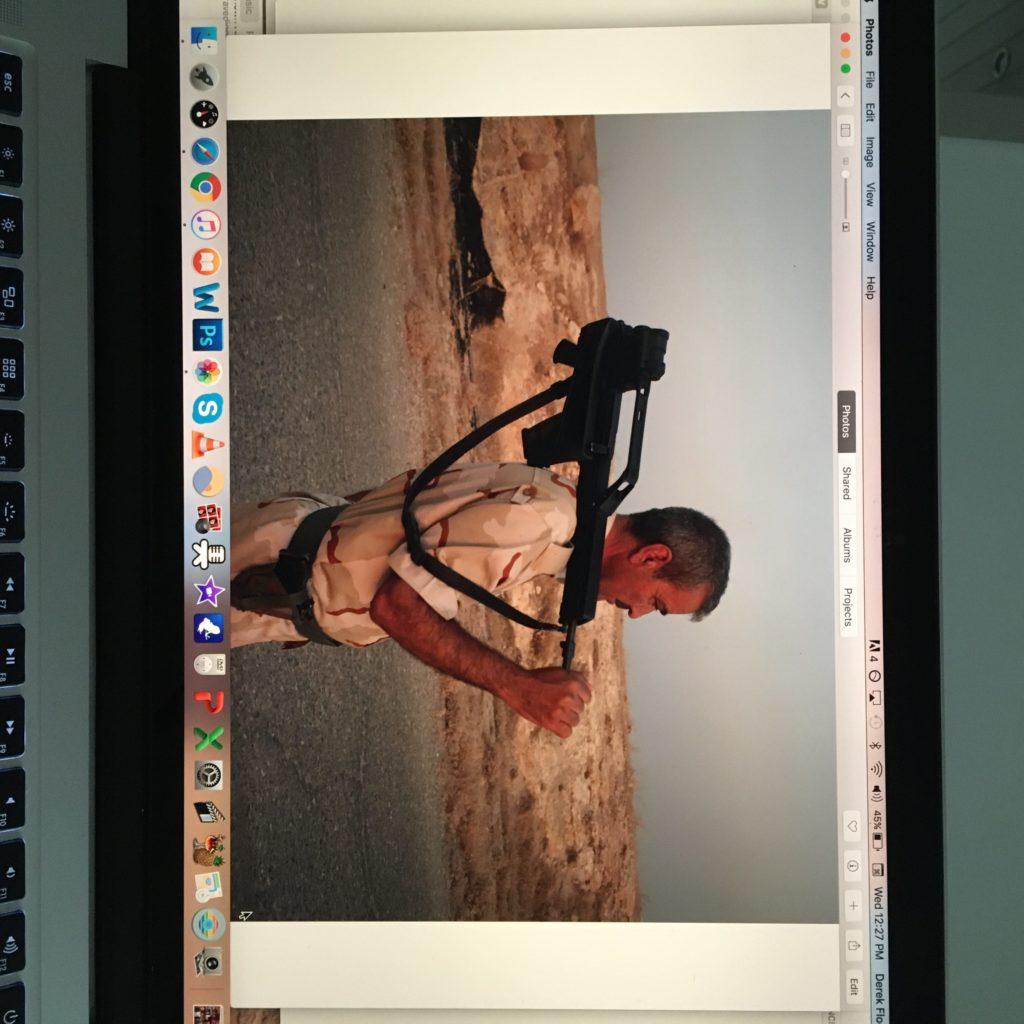 Working on a few new projects here in Catalunya from my recent trip to Iraq. ©2016 Derek Henry Flood
